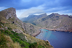 Cala Figuera Royalty Free Stock Image - Image: 22050986