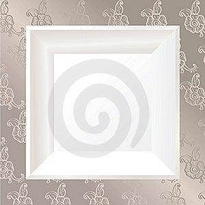 White Photo Frame Royalty Free Stock Photo - Image: 22051205