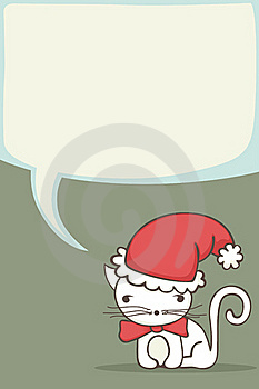Cute Christmas Card Royalty Free Stock Photography - Image: 22051737