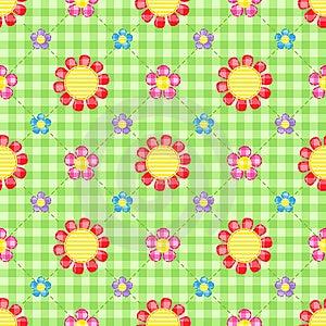 Flowers Background Stock Images - Image: 22052174