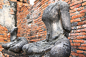 Headless And Armless Buddha Images Stock Photography - Image: 22058702