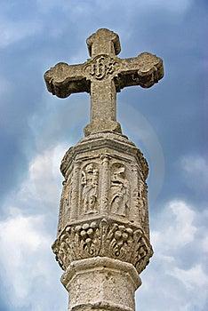 Medieval Cross Stock Photo - Image: 22060470