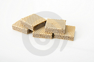 Chocolate Wafer Royalty Free Stock Photos - Image: 22061198