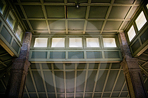 Interior Ceiling Of Pavilion At Rockcliffe Park Stock Photos - Image: 22063083