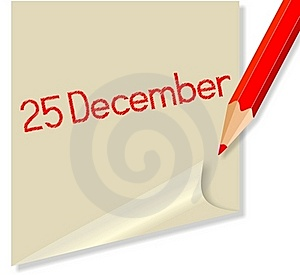 December 25 Royalty Free Stock Photography - Image: 22065167