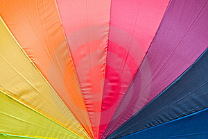 Multicolored Umbrella Royalty Free Stock Images - Image: 22080279