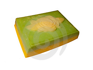 Soap With Rose Stock Photography - Image: 22084822