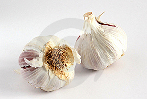 Garlic Bulbs (Allium Sativum) Stock Image - Image: 22087111