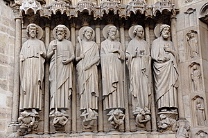 Notre Dame Achitecture Stock Photography - Image: 22091632