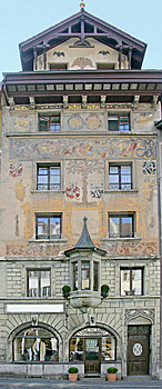 Nice Swiss Mansion 10 Stock Images - Image: 2214424