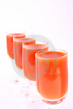 Juice tomato Stock Photo