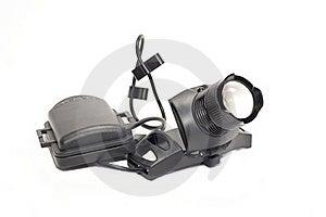 LED Flashlight Royalty Free Stock Image - Image: 22101016