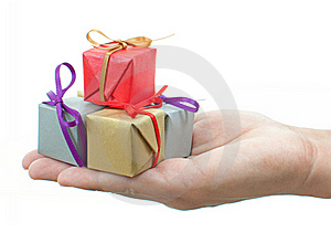 Gift Boxes Royalty Free Stock Photography - Image: 22105067