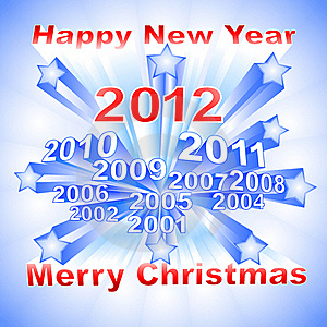 New Year 2012 Background Stock Photos - Image: 22116303