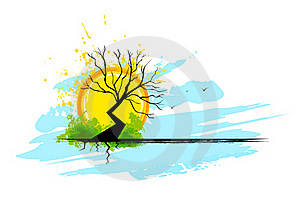 Dry Tree Royalty Free Stock Photography - Image: 22119297