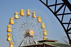 Big Yellow Wheel Stock Photos - Image: 22136163
