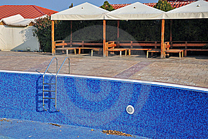 Blue Pool And Bar Royalty Free Stock Photos - Image: 22137728