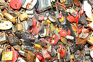 Background Of Wedding Locks Royalty Free Stock Photo - Image: 22146565