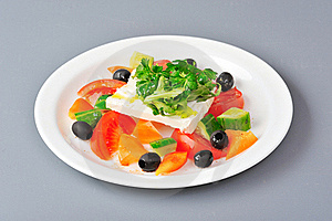 Greek Salad Royalty Free Stock Image - Image: 22151546
