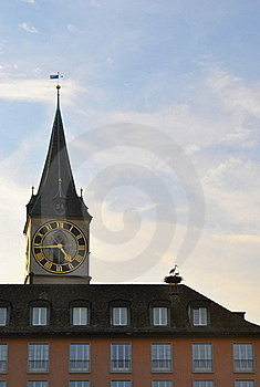 Fraumunster Abbey, Zurich Stock Photo - Image: 22159230