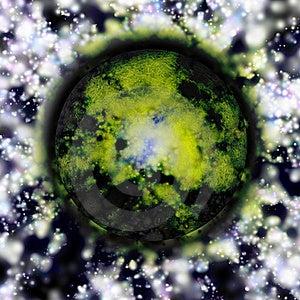 Mystic Planet Royalty Free Stock Image - Image: 22159416