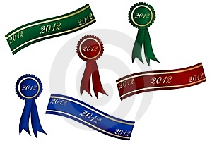 2012 Banners Stock Photo - Image: 22160540