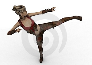 Warrior Princess Stock Image - Image: 22162681