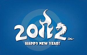 εορτασμός καρτών του 2012 πο&u Στοκ Εικόνες - εικόνα: 22169050