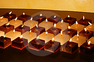 Group Of Candles Royalty Free Stock Images - Image: 22172259