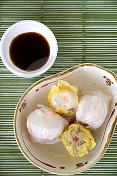 Dimsum On Top Royalty Free Stock Photography - Image: 22181107