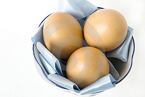 Close Up Eggs On Pan Stock Image - Image: 22181111