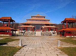 Buddha Monastery Royalty Free Stock Photo - Image: 22192605