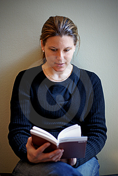 Young Woman Reading A Novel Stock Photos - Image: 2220073