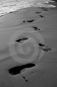 Foot Prints Stock Photos - Image: 2221513