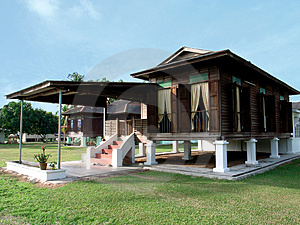 Kampung house Stock Images
