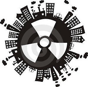 Radiation In The World In Vector Royalty Free Stock Photo - Image: 22201105