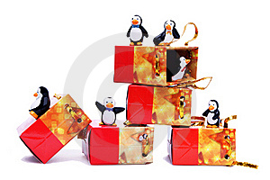 Penguins Royalty Free Stock Photos - Image: 22201368