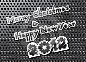 Merry Christmas And Happy New Year Stock Photos - Image: 22205233