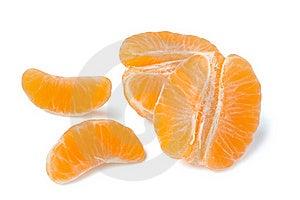 Peeled Tangerine Royalty Free Stock Image - Image: 22206056