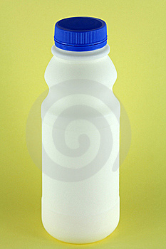 A Bottle Of Fresh Pasteurized Milk Royalty Free Stock Photography - Image: 22209087