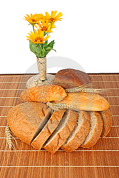 Bread Composition Royalty Free Stock Photo - Image: 22210535