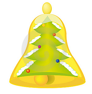 New Year's Bell Royalty Free Stock Photo - Image: 22218515