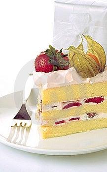 Strawberry Sponge Cake Stock Photos - Image: 22224573