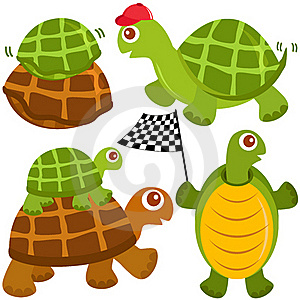 Cute Vector Collection Of Turtle, The Winne Stock Photography - Image: 22226532