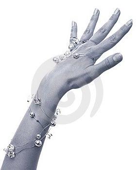 Girls Hand Stock Image - Image: 22229481
