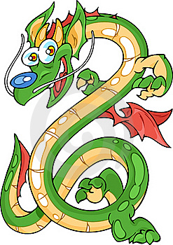 Funny Dragon Stock Images - Image: 22231764