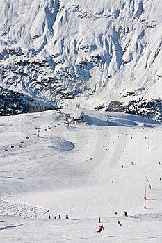 On The Slopes Of Obergurgl. Austria Royalty Free Stock Image - Image: 22241466