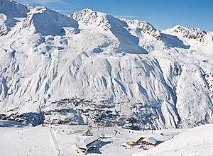 On The Slopes Of Obergurgl. Austria Stock Photo - Image: 22241500