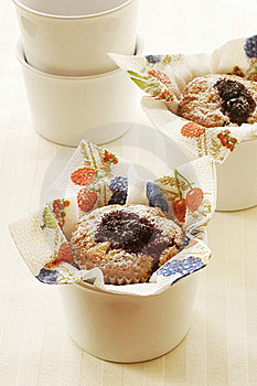 Berry Muffins Stock Photos - Image: 22245083