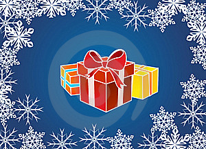Present Box Royalty Free Stock Images - Image: 22245399
